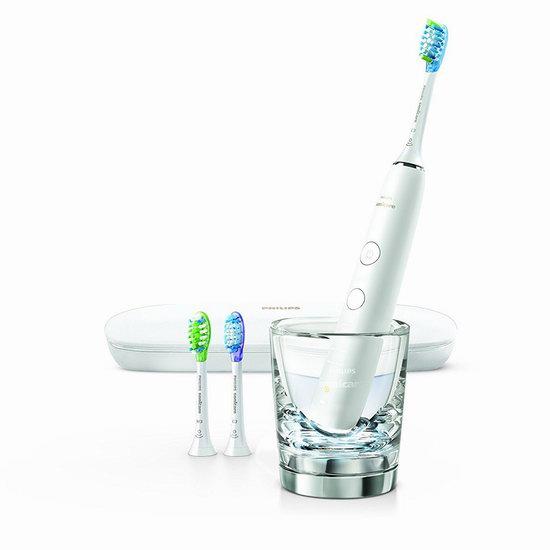 速抢!新一代 Philips 飞利浦 HX9903 钻石亮白 蓝牙智能系列 声波震动牙刷5.2折 129.95加元包邮!