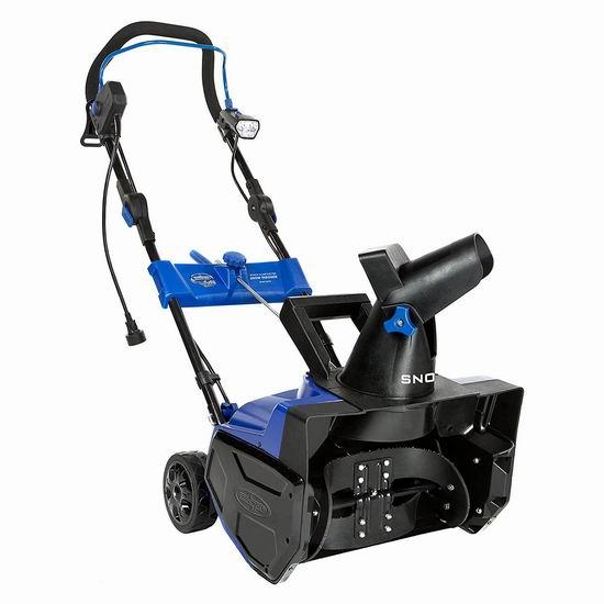 手慢无!官翻 Snow Joe Ultra SJ619E-RM 14.5安培18英寸电动铲雪机5.2折 74.81加元包邮!