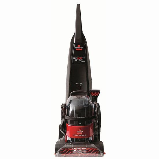 历史最低价!Bissell 必胜 66E1D Pro Heat 2X 二合一 手提/立式 专业深层地毯清洗机 279.99加元包邮!