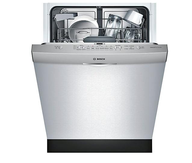 Bosch SHS5AV55UC 24英寸 46 dBA 静音不锈钢洗碗机 598加元,原价 948加元