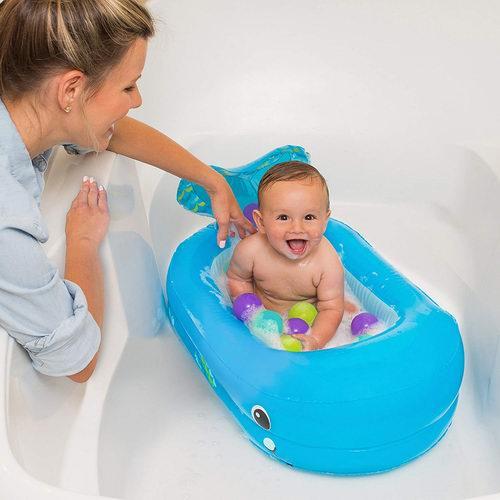 Infantino 鲸鱼泡泡宝宝充气浴盆+10个漂浮球 18.97加元,原价 32.02加元