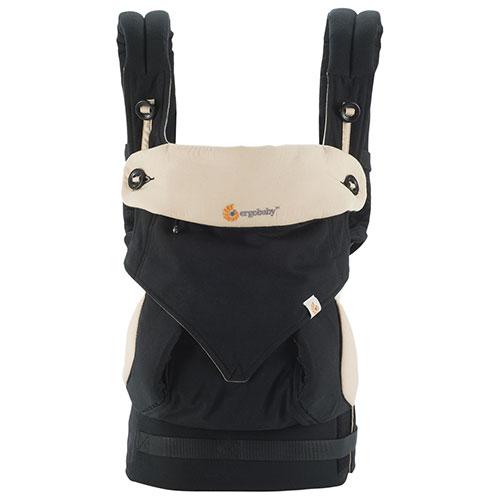 Ergobaby 360度四式婴儿背带 黑色/骆驼款 99.99加元,原价 214.99加元,包邮