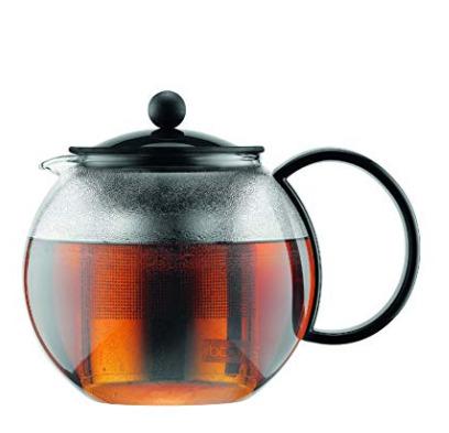 Bodum Assam 34盎司不锈钢内胆玻璃茶壶 6.2折 24.99加元特卖!