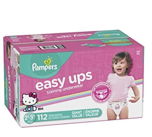 精选 Pampers 帮宝适 Easy Ups 男女宝宝如厕训练裤 34.97加元,原价 39.99加元,包邮