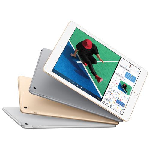 Apple iPad 9.7英寸 32GB平板电脑 349.95加元(2色),原价 449.95加元,包邮