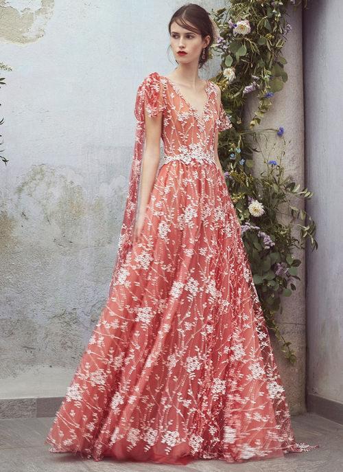 仙气十足!精选 Luisa Beccaria 刺绣钉珠薄纱连衣裙 7折+额外8折优惠!