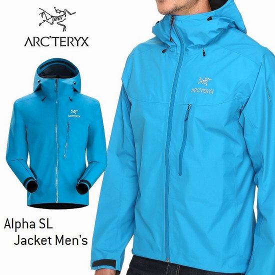 Arc'teryx 始祖鸟 Alpha SL 超轻薄 防风雨 男式连帽夹克5.7折 212.49加元包邮!6色可选!