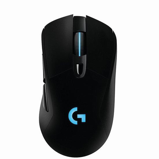 历史新低!Logitech 罗技 G703 Lightspeed 无线游戏鼠标6.9折 89.99加元包邮!