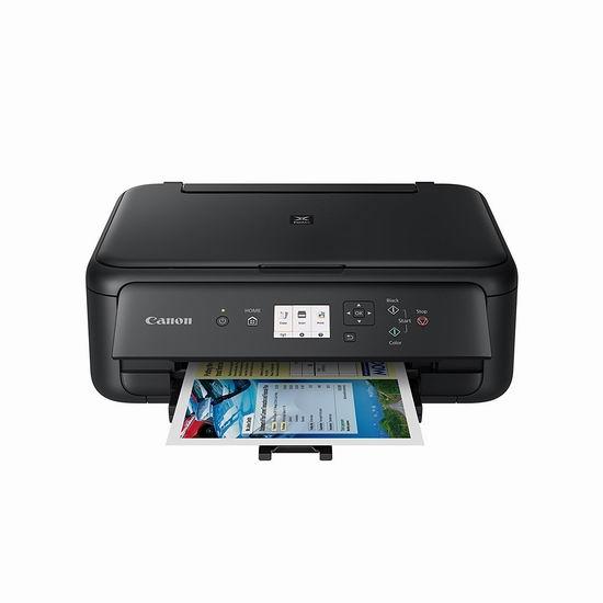 历史最低价!Canon 佳能 PIXMA TS5120 黑色款 无线多功能彩色喷墨打印机3.8折 49.99加元包邮!
