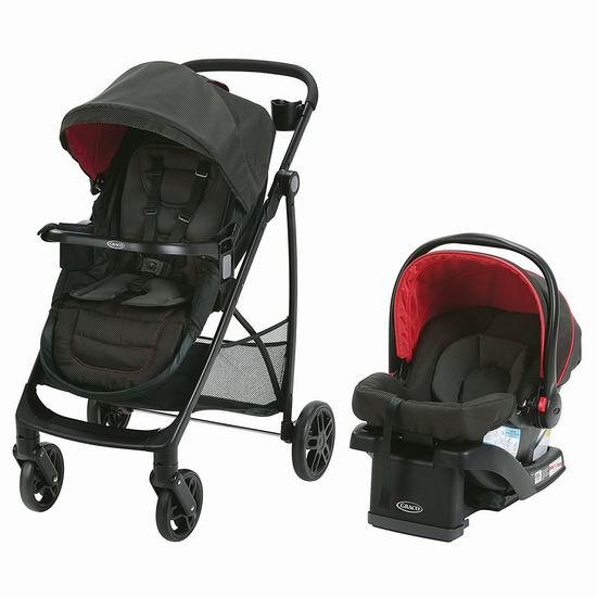 历史最低价!Graco Remix 成长型 超轻 双向婴儿推车+婴儿提篮4.7折 250加元包邮!