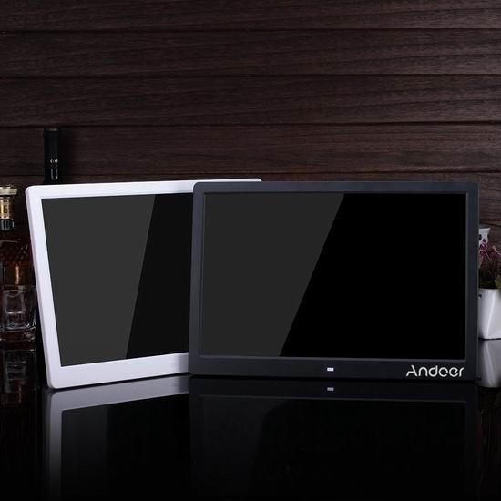 历史新低!Andoer 15.6英寸超大 多功能LED高清 电子相框4.3折 55.99加元限量特卖并包邮!