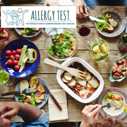 Allergy Tests 食物过敏源检测套餐3.6折 24美元起!