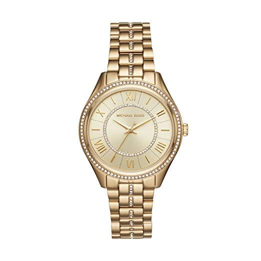 历史新低!Michael Kors MK3719 时尚晶钻 女士腕表/手表4.2折 139.51加元包邮!