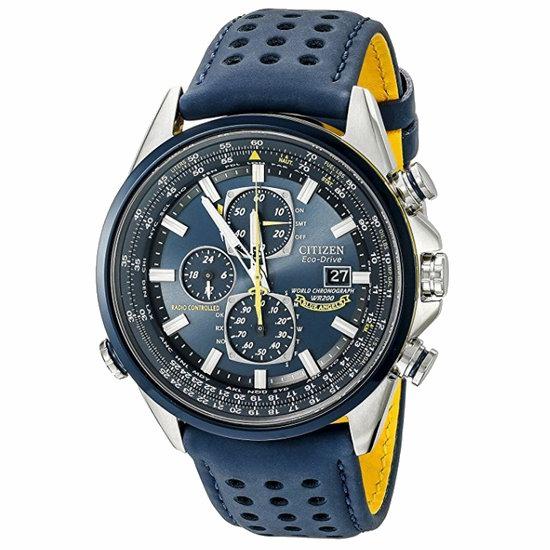 近史低价!Citizen 西铁城 AT8020-03L 蓝天使 光动能 多局电波 男士手表/腕表4.4折 286.43加元包邮!