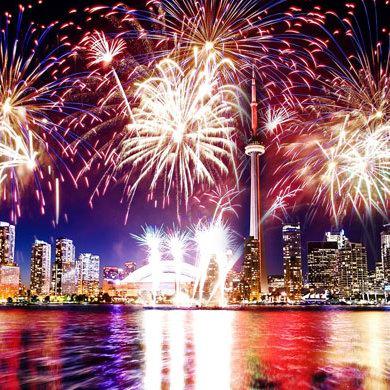 加拿大国庆好去处,游山玩水、看烟花!