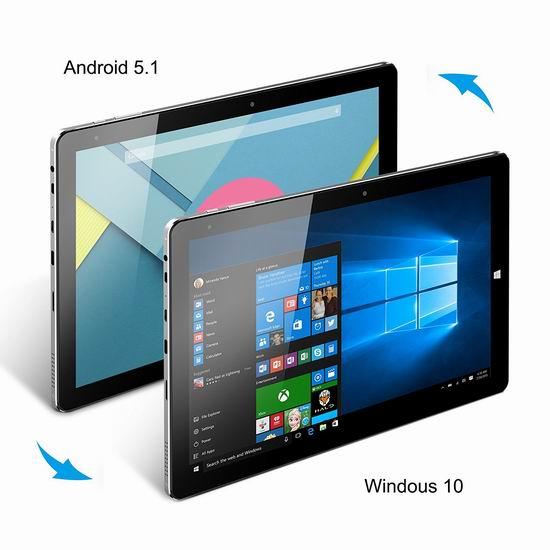 CHUWI Hi10 Pro 10.1寸 二合一平板电脑(4G/64G)6.9折 185.99加元限量特卖并包邮!