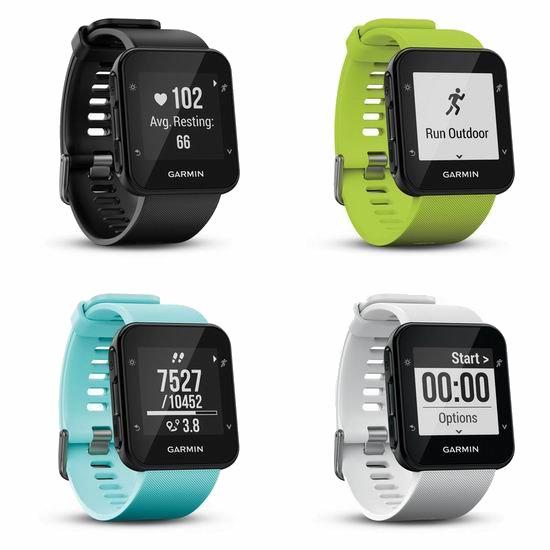 Garmin 佳明 Forerunner 35 GPS 智能手表6.3折 169.99加元包邮!4色可选!