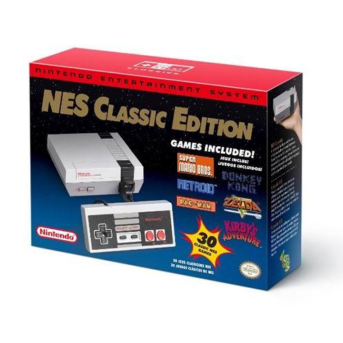 Nintendo NES Classic Edition 超级任天堂 灰白 复刻迷你游戏机 79.99加元包邮!