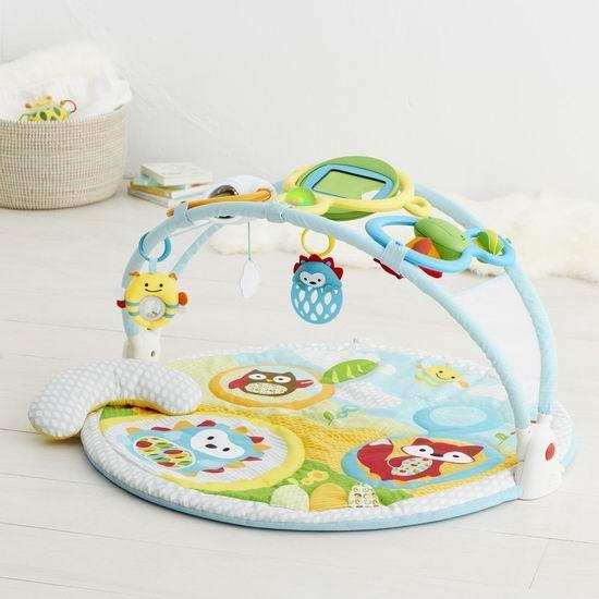 历史新低!Skip Hop Explore and More 婴儿爬行游戏垫套装5折 60加元包邮!会员专享!