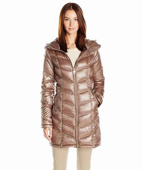Calvin Klein 中长款可折叠束腰羽绒服 78.68加元(XS码),原价 364加元,包邮