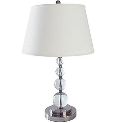 Q-Max SH1028 28英寸水晶球台灯 42.3加元,原价 176.72加元,包邮