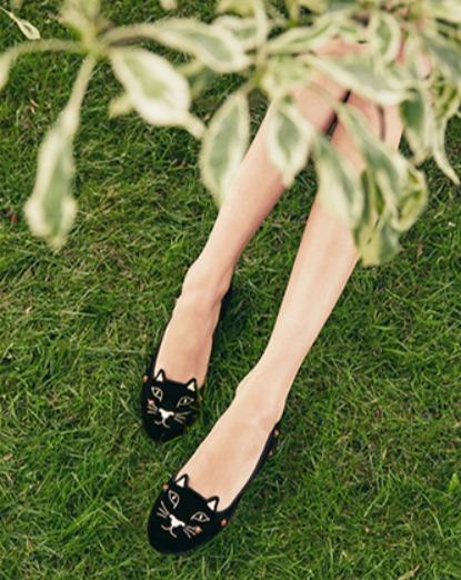 精选多款Charlotte Olympia萌萌哒猫咪鞋,美包 2.9折起优惠,猫咪鞋低至193加元!