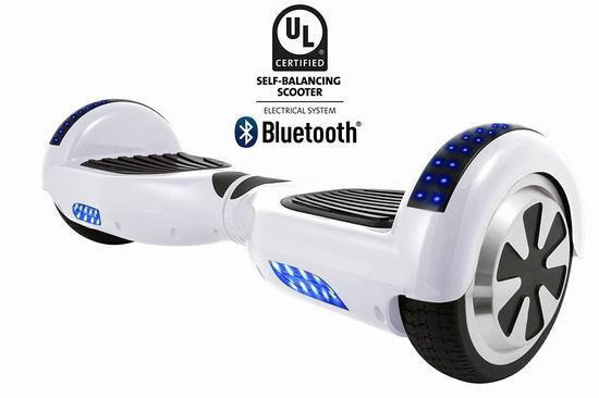 历史新低!HOVERBIRD I1 UL2272 电动平衡车4.9折 259.99加元包邮!蓝牙版279.99加元!多色可选!