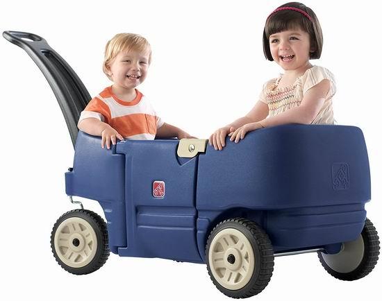 销量冠军!Step2 Wagon Plus 双人儿童拖车 84.99加元包邮!