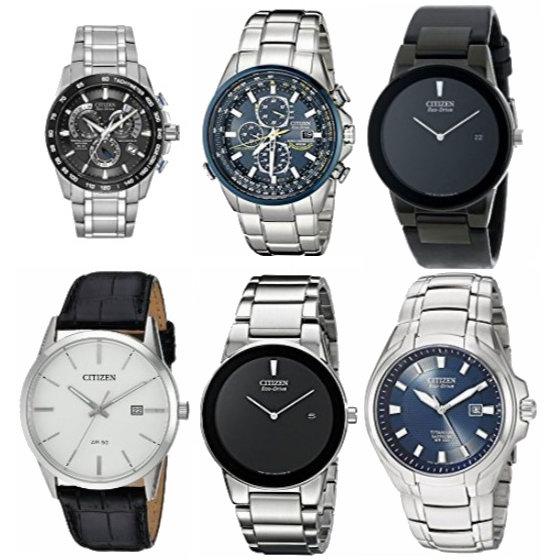 金盒头条:精选 Citizen、Seiko、Casio 等品牌男士手表、摇表器4.7折起