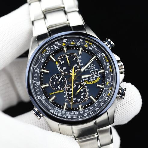 金盒头条:Citizen 西铁城 AT8020-54L 蓝天使 光动能 多局电波 男士手表/腕表5.3折 367.5加元包邮!