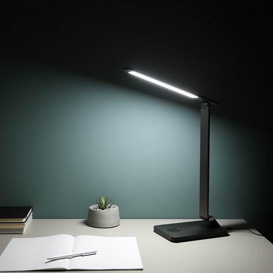 历史新低!AUKEY 10W LED 触控式 可充电 护目台灯4.1折 29加元包邮!