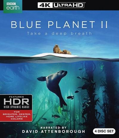 历史新低!《Blue Planet II 蓝色星球2》4K超高清蓝光影碟套装4.3折 25.99加元!DVD版20.99加元!