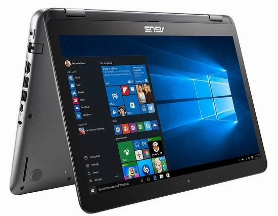 金盒头条:历史新低!Asus 华硕 R518UA-DH51T VivoBook Flip 15.6英寸 触摸屏 变形笔记本电脑(8GB, 256GB SSD) 615.99加元包邮!
