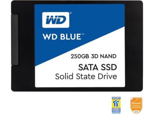手慢无!WD 西部数据 Blue 3D NAND 250GB PC SSD 固态硬盘 67.99加元包邮!
