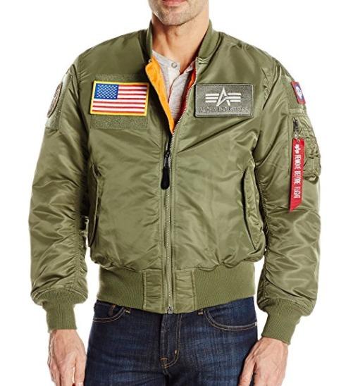 白菜价!Alpha Industries Ma-1 Flex 男士轰炸机夹克3.2折 64.06加元起包邮!加小码女生也能穿!