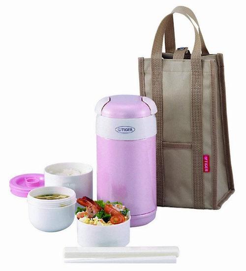 Tiger 虎牌1.5杯保温午餐盒 粉色款 49.84加元,原价 73加元,包邮