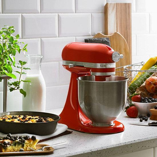 历史新低!KitchenAid 厨宝 Artisan 名厨系列 KSM3311XHT 红色多功能厨师机4.5折 249.95加元包邮!