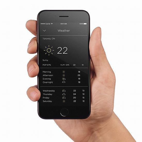 最新款 ecobee4 智能恒温器 279加元包邮!兼容Alexa智能音箱!