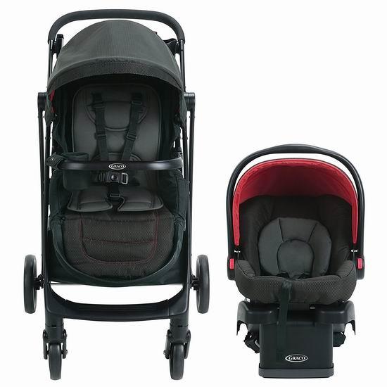 白菜价!汗青新低!Graco Remix 发展型 超轻 双向婴儿推车+婴儿提篮2.7折 144.49加元包邮!会员专享!