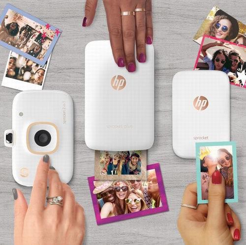 历史最低价!HP 惠普 Sprocket 小印 便携式自拍伴侣 口袋照片打印机 119.99加元包邮!