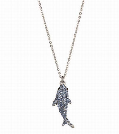 精选 KATE SPADE 鲨鱼/蜜蜂造型项链、螃蟹/蝴蝶造型耳钉 3.4折起特卖!
