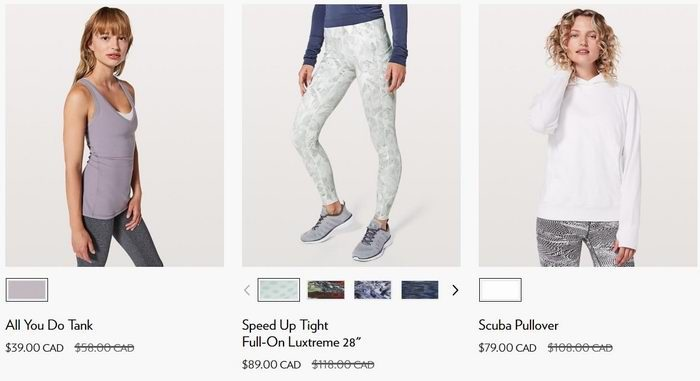 Lululemon 露露柠檬 又上新货了!精选成人儿童瑜伽服、瑜伽裤5折起!