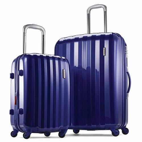 白菜价!历史新低!Samsonite 新秀丽 Prism 全PC 时尚硬壳拉杆行李箱(20/28寸)2件套 144.86加元包邮!