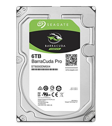 历史最低价!Seagate ST6000DM004 BarraCuda Pro 6TB  3.5寸硬盘 199.49加元,原价 289.99加元,包邮
