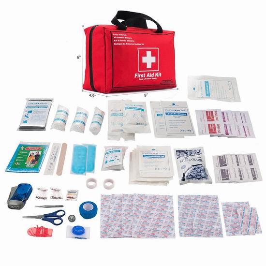 EnergeticSky 便携式家庭医疗急救包130件套 28.04加元限量特卖!