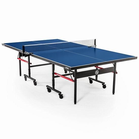 销量冠军!Stiga T8580W Advantage 锦标赛系列 折叠式乒乓球桌6.2折 440.02加元包邮!
