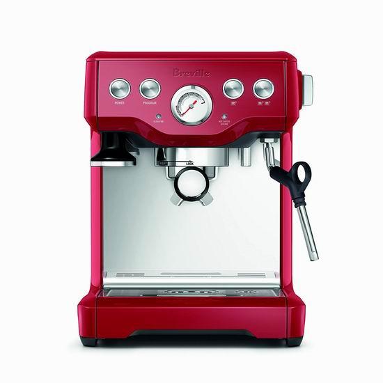 Breville BES840CBXL 半自动 意式浓缩咖啡机5.4折 396.55加元包邮!2色可选!会员专享!