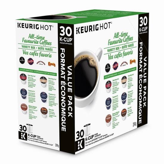精选多款 Keurig K-Cup 咖啡胶囊5.8折起!会员专享!