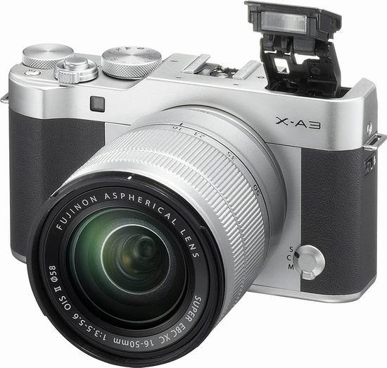 金盒头条:历史最低价!Fujifilm 富士 X-A3 Wi-Fi 复古微单相机+XC16-50mm F3.5-5.6 II镜头套装 524.99加元包邮!
