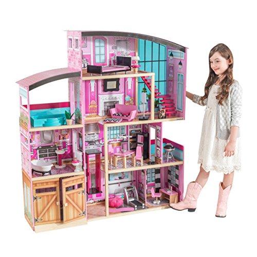 历史新低!KidKraft Shimmer 超大梦幻 玩具娃娃屋3.6折 103.22加元包邮!会员专享!